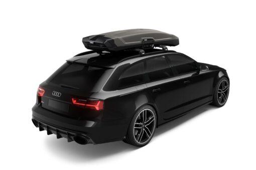 Thule Vector Alpine - Titan Matte - op auto
