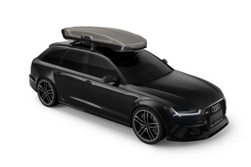 hule Vector Alpine - Titan Matte - op auto voorzijde