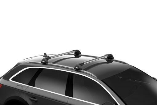 Thule Evo Flush rail met WingBar Edge compleet op auto