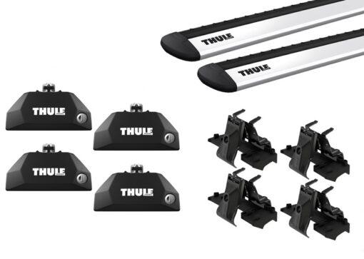 Thule FlushRail Evo set - WingBar Evo