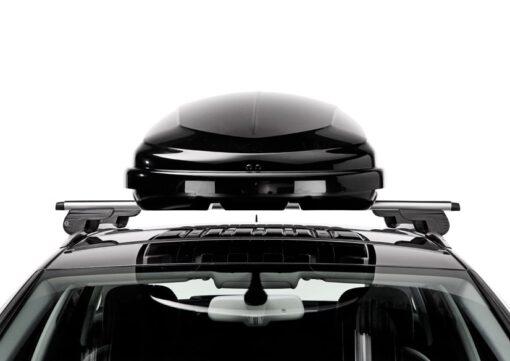 Hapro Traxer 66 brilliant black op auto voorzijde